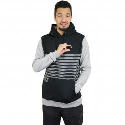 Volcom Hoody Threezy schwarz out