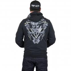 Yakuza Premium Zip-Hoody 2526 B schwarz