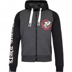 Yakuza Premium Zip Hoody 3026 schwarz