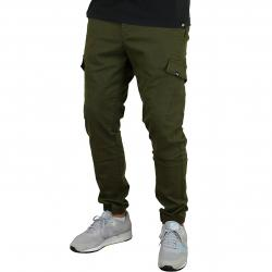 Reell Hose Jogger Cargo oliv