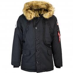 Alpha Industries Polar Jacke schwarz