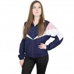 Cleptomanicx Damen Trainingsjacke Track dunkelblau