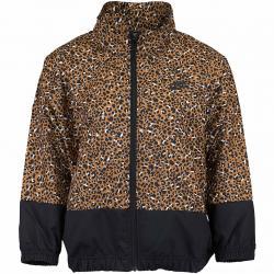 Nike Damen Trainingsjacke Jacke Animal Woven braun/schwarz