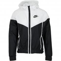 Nike Damen Jacke Windrunner schwarz/weiß