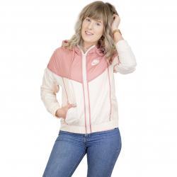Nike Damen-Jacke Windrunner beige/pink
