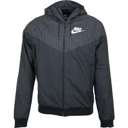 Nike Jacke HD Reg GFX schwarz/weiß