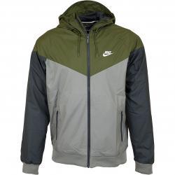 Nike Jacke Windrunner oliv/grau