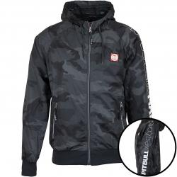 Pitbull Jacke Athletic X schwarz camouflage
