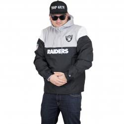 New Era Jumper Colour Block Oakland Raiders schwarz/grau