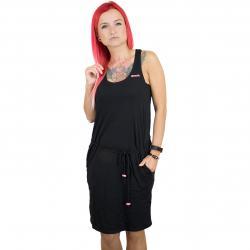 Bench Kleid Twist Jersey schwarz