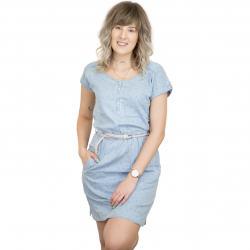 Ragwear Kleid Geena hellblau