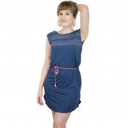 Ragwear Kleid Valencia dunkelblau