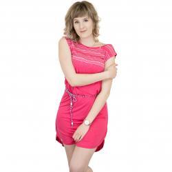 Ragwear Kleid Valencia pink