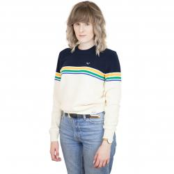 Iriedaily Damen Sweatshirt Fanny dunkelblau