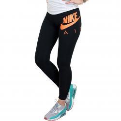 Nike Leggings Air schwarz/orange