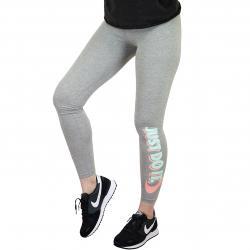 Nike Leggings Just Do It Club grau/coral