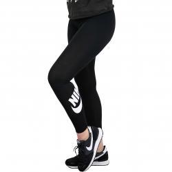 Nike Leggings Leg-A-See schwarz/weiß