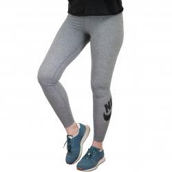 Nike Leggings Leg-A-See grau/schwarz
