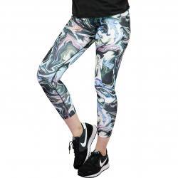 Nike Leggings Leg-A-See Marble schwarz