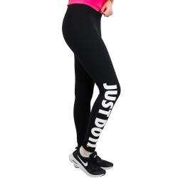 Nike Leggings Legasee JDI schwarz/weiß