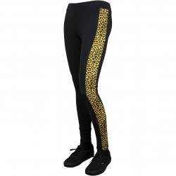 Urban Classics Leggings Side Striped Pattern schwarz