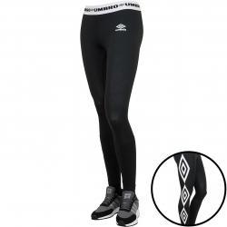 Umbro Leggings Logo schwarz/weiß