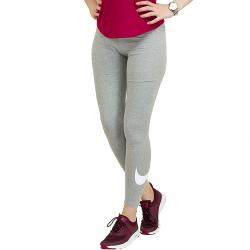Nike Leggings Club Legging-Logo 2 dunkelgrau/weiß