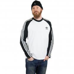 Adidas Originals Longsleeve 3-Stripes schwarz