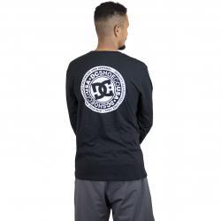 DC Longshirt Circle Star schwarz