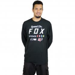 Fox Longshirt Murc schwarz