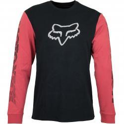 Fox Longshirt Victory schwarz