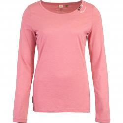Ragwear Florah Organic Damen Longsleeve pink