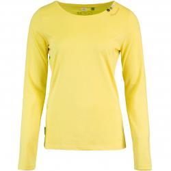 Ragwear Florah Organic Damen Longsleeve gelb