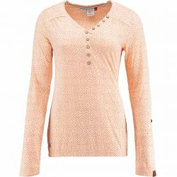 Ragwear Damen Longsleeve Pinch Stars orange
