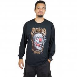 Joker Brand Longsleeve Skull schwarz