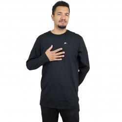 Nike Longshirt Asym schwarz