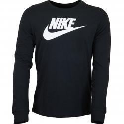 Nike Longsleeve Futura Icon schwarz/weiß