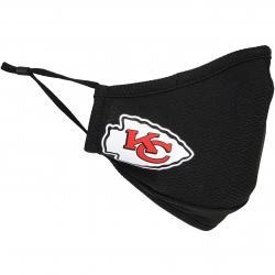 Maske New Era NFL Kansas City Chiefs schwarz