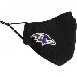 Maske New Era NFL Baltimore Ravens schwarz