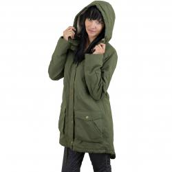 Volcom Damen Parka Walk On By dark camo