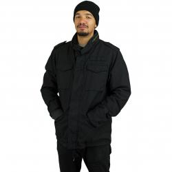 Vintage Industries Parka Ground schwarz