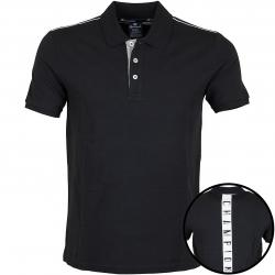Champion Polo-Shirt schwarz