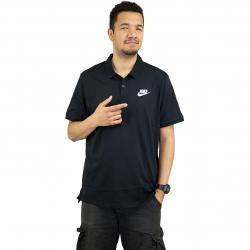 Nike Poloshirt Matchup Jersey schwarz/weiß