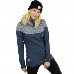 Ragwear Damen-Hoody Adina Organic dunkelblau