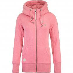 Ragwear Neska Damen Zip Hoody pink