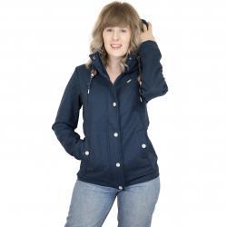 Ragwear Damen-Jacke Enrica blau