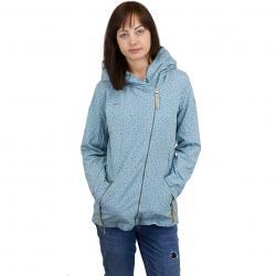 Ragwear Damen-Jacke Paulina Dots dusty blue