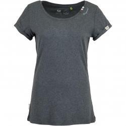 Ragwear Damen T-Shirt Florah Organic schwarz