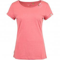 Ragwear Damen T-Shirt Florah Organic coral rot