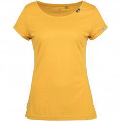 Ragwear Damen T-Shirt Florah Organic gelb